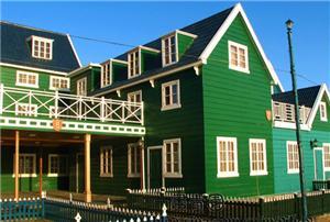 月坨岛荷兰小木屋