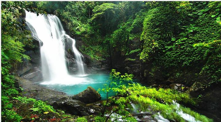 乌来瀑布旅游图片