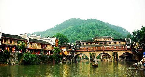虹桥旅游图片