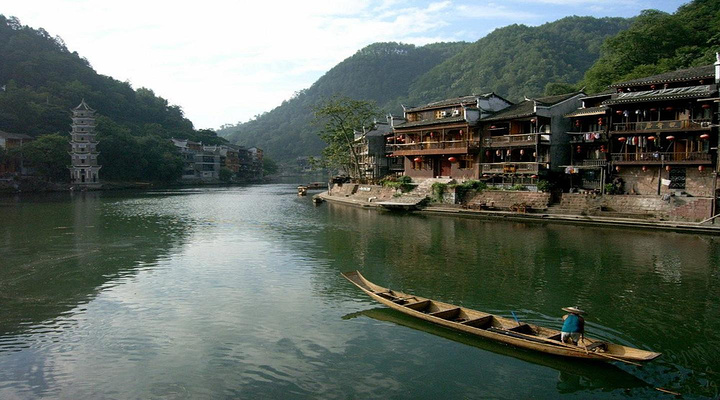 山江苗寨旅游图片