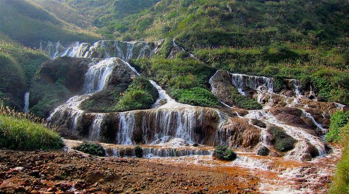 黄金瀑布旅游图片