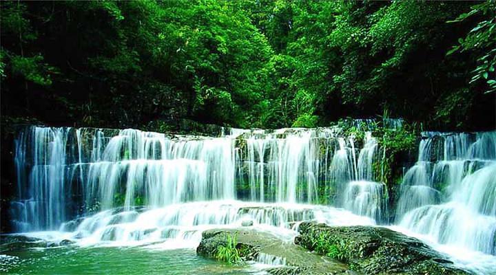 九龙瀑布群旅游图片