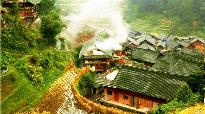 朗德苗寨旅游图片