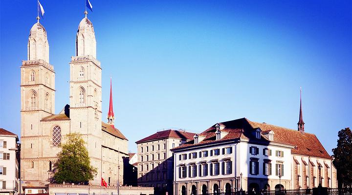 苏黎世大教堂旅游图片