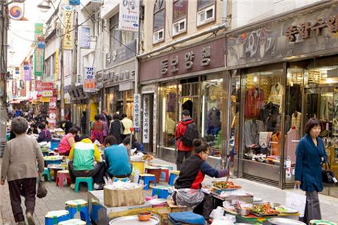 国际市场饮食街