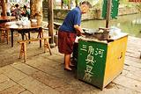 三角河 臭豆腐