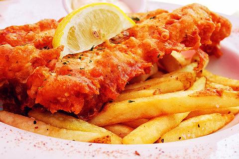 炸鱼薯条Fish and chips