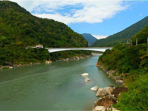 秀姑峦溪旅游景点图片