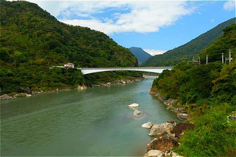 秀姑峦溪的图片