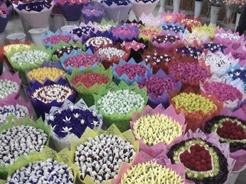 岔街1号花卉市场旅游景点图片