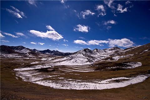 米拉山口的图片