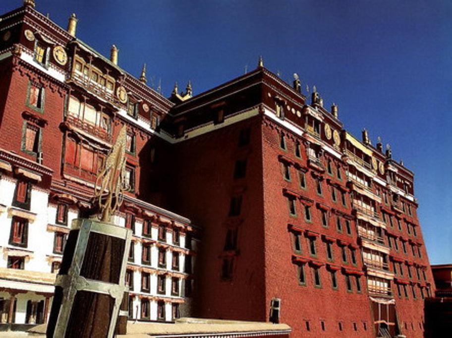 布达拉宫旅游导图