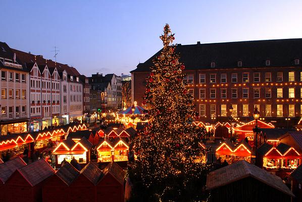 圣诞市场旅游图片