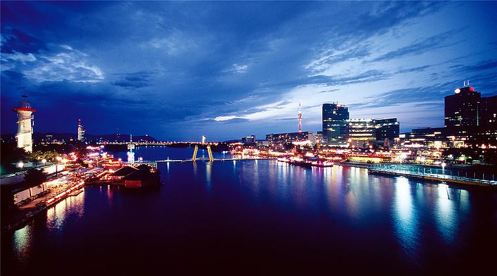 维也纳夜景旅游图片