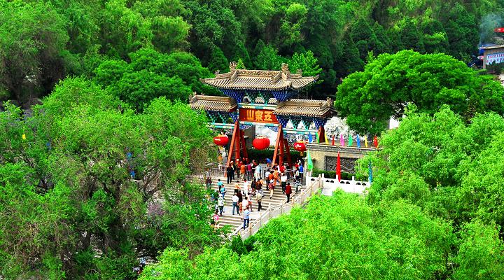 五泉山公园旅游图片