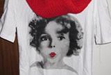 民丹岛的圆领t恤