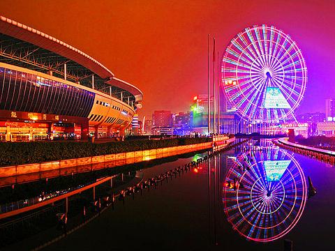 长沙摩天轮旅游景点图片