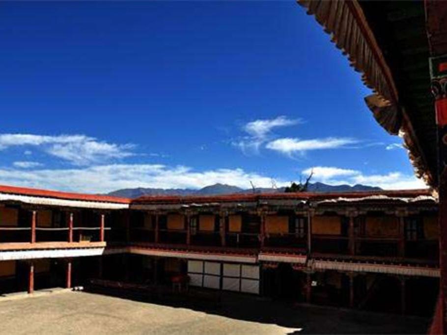 哲蚌寺旅游导图