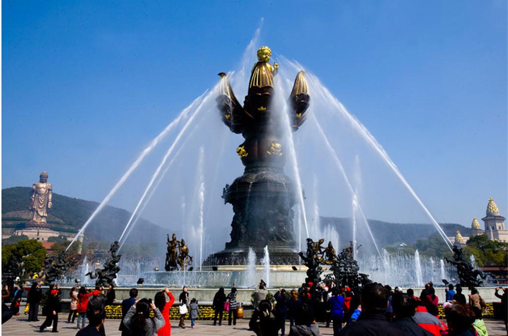 灵山梵宫旅游导图