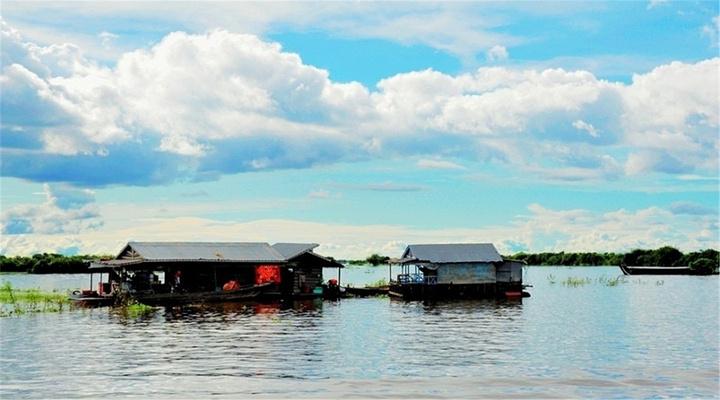 洞里萨湖旅游图片