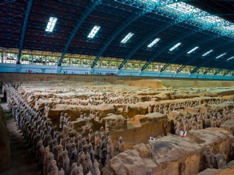 秦始皇兵马俑博物馆旅游导图