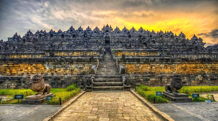 婆罗浮屠 旅游图片