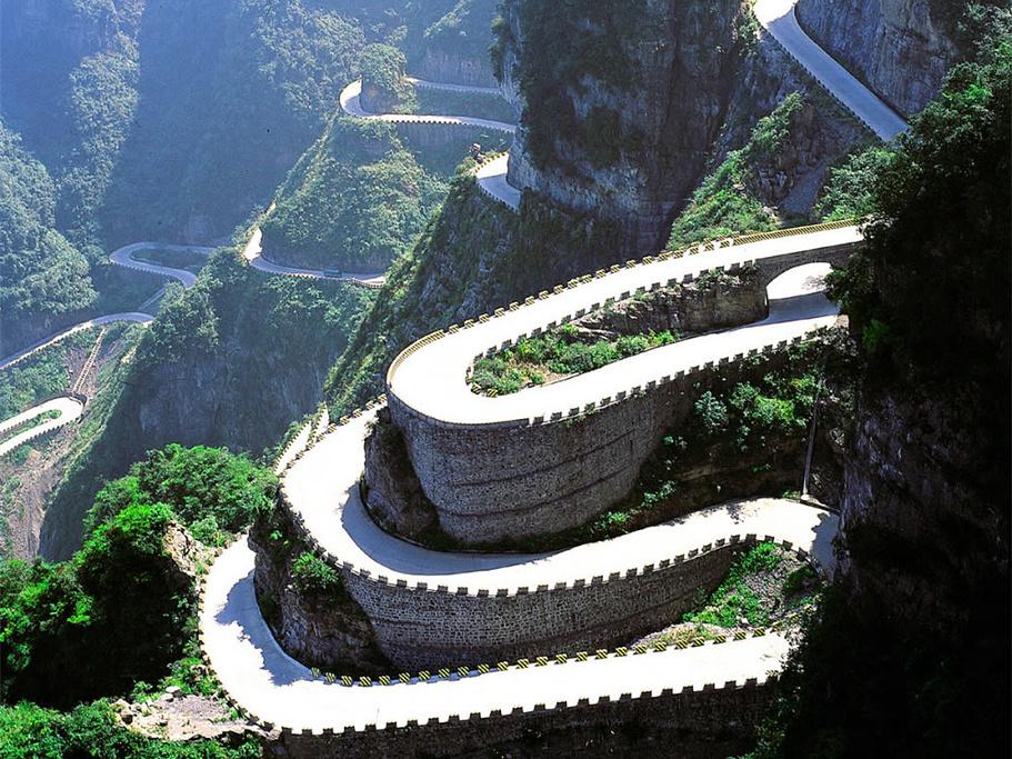 天门山旅游导图