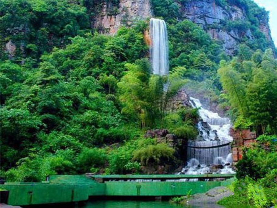 宝峰湖旅游导图
