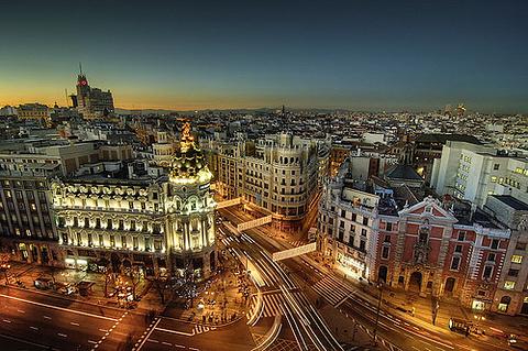 马德里旅游景点图片