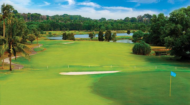 民丹岛的高尔夫球场旅游图片