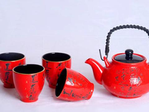 醴陵釉下五彩瓷·中国红瓷展厅旅游景点图片
