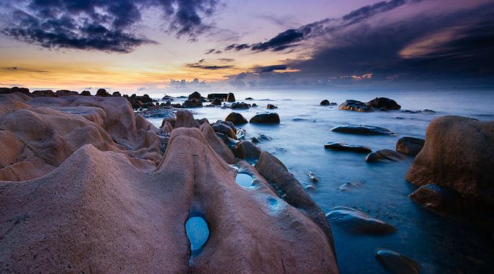 钟屿石岬角旅游图片