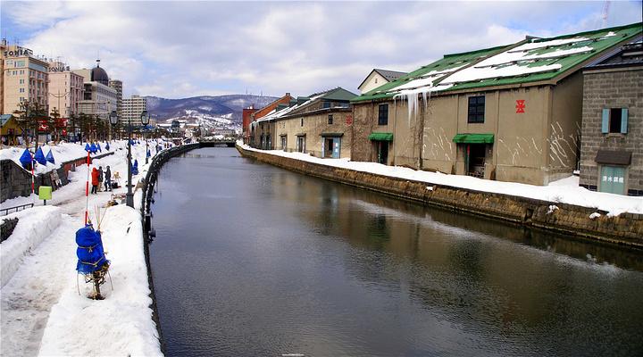 冬日小樽旅游图片