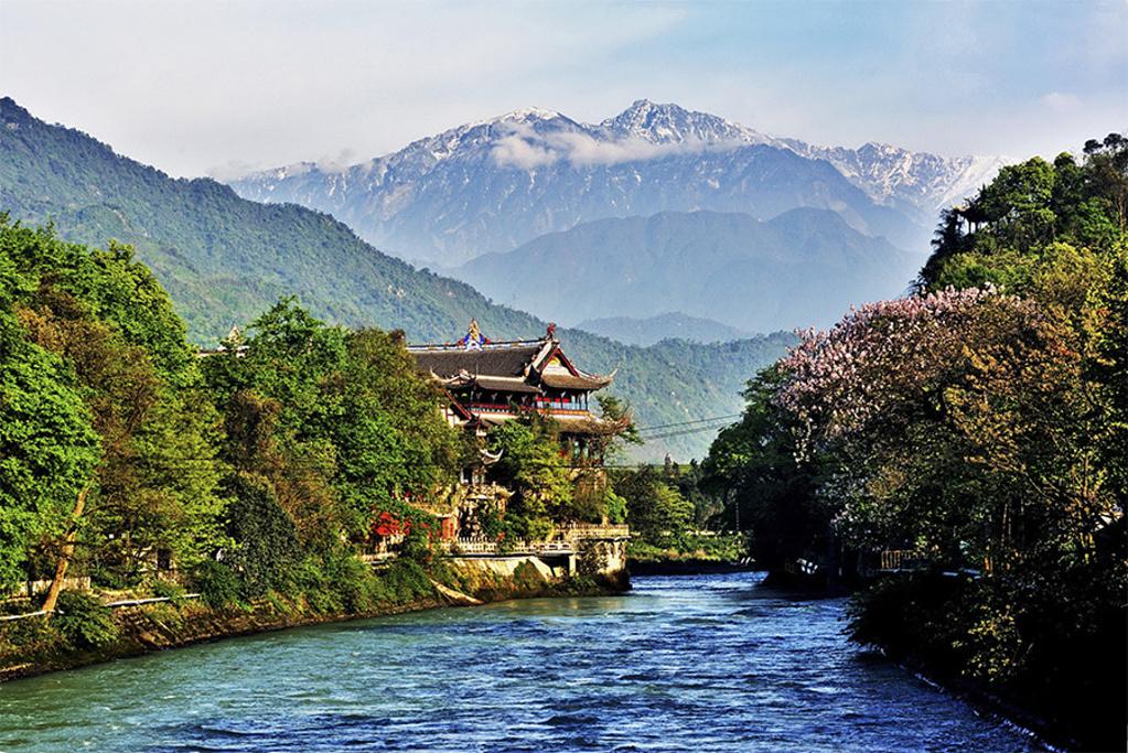 都江堰旅游导图