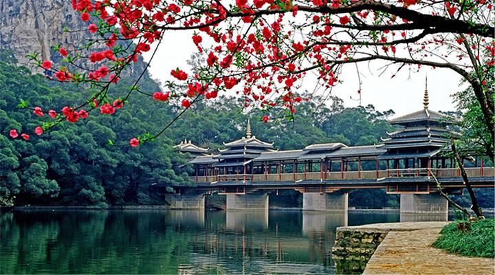 程阳风雨桥旅游图片
