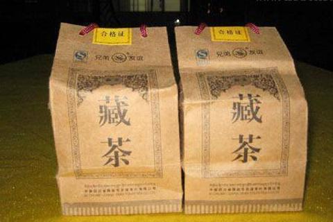 兄弟友谊藏茶