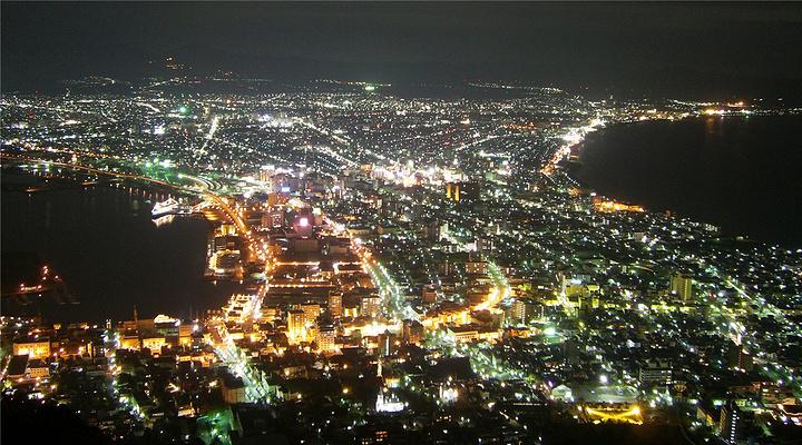 函馆 夜景旅游图片