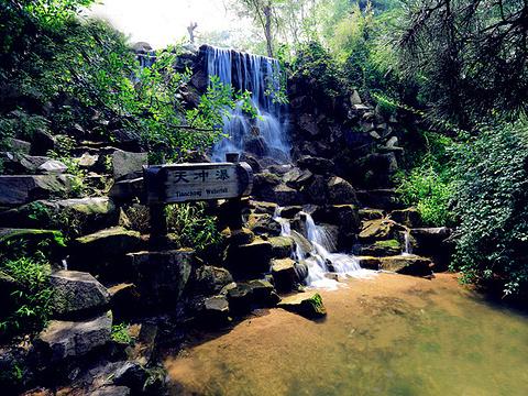 九如山瀑布群风景区旅游景点图片