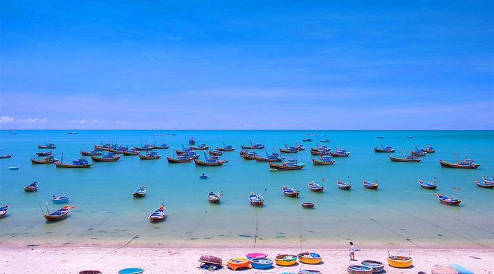 美奈渔港旅游图片