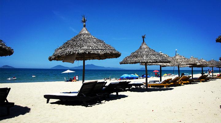 楚带沙滩旅游图片