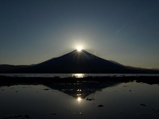 富士山中湖旅游图片
