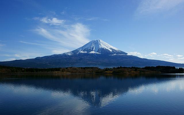 富士山河口湖旅游图片