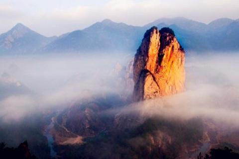 石桅岩旅游图片