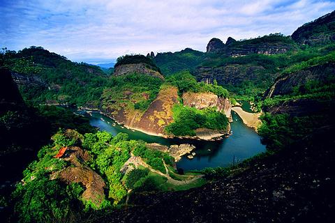 九曲溪旅游图片
