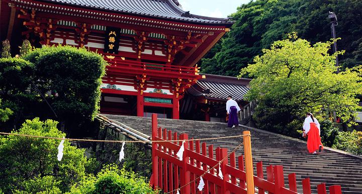 鹤冈八幡宫旅游图片