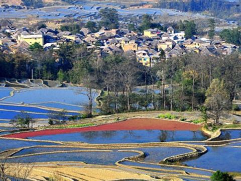 红河旅游图片