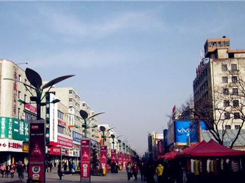 天水步行街旅游景点图片