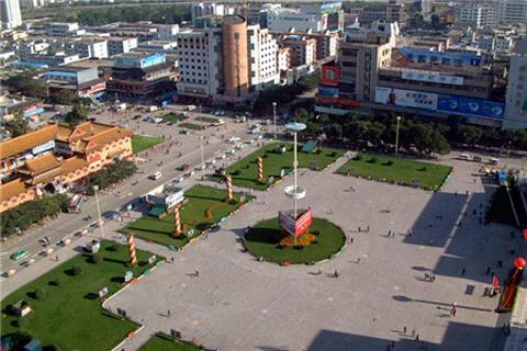 天水中心广场的图片