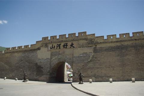 大境门的图片