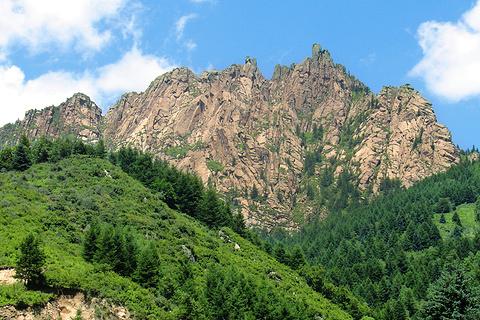 忻州管涔山的图片